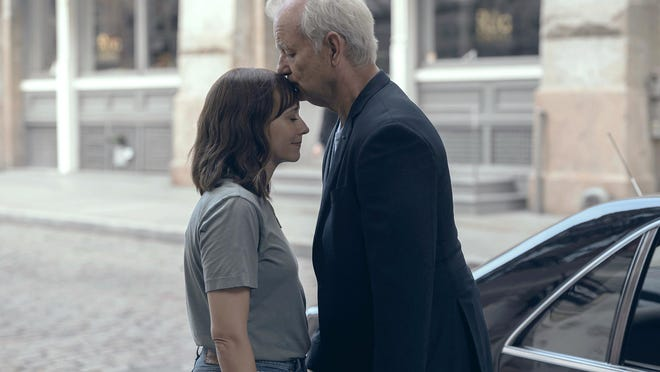 """Rashida Jones and Bill Murray star as daughter and father in Sofia Coppola's """"On the Rocks."""""""