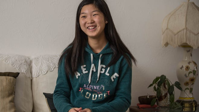 Lakeview High ninth-grader Naho Miki is anxious to return to her native Japan in June. But, one day, she'd like to return to America.