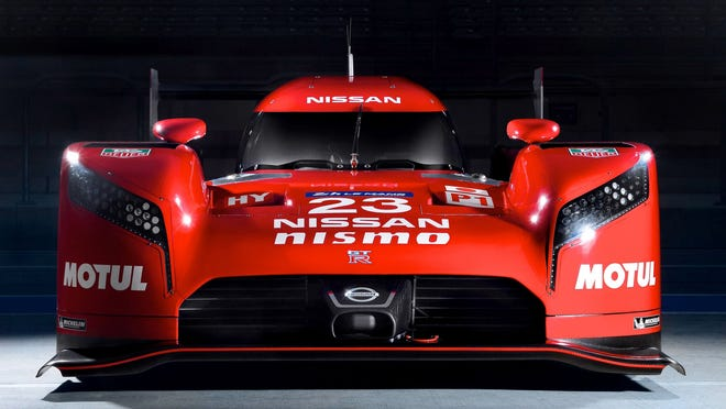 The GT-R LM Nismo race car made a cameo during Nissan's Super Bowl commercial.