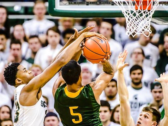 MSU vs Northern Michigan Basketball