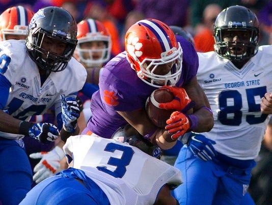NCAA Football: Georgia State at Clemson