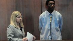Khalil Wheeler-Weaver appeared before Judge Ronald