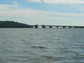 The Oceanic Bridge, as seen from 1/2 mile west on the