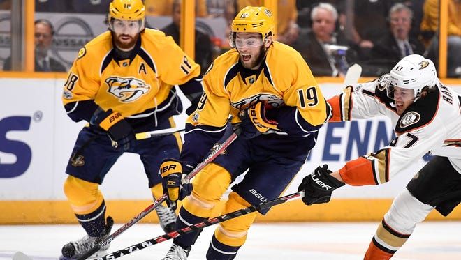 Predators forward Calle Jarnkrok has reached the 30-point mark in each of the past two seasons.