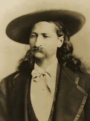 Among C-SPAN'S video segments on Springfield is one about Wild Bill Hickok and the American West. In 1865, he shot a man to death in a duel on the downtown square. This photograph shows Hickok, circa 1873-1874.