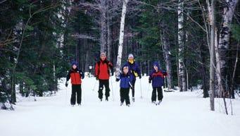 Noquemanon Trails in Marquette