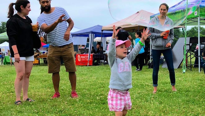 Rain in the forecast did not dampen the spirits of Sourland Music Festival attendees. The 15th annual event attracted a record number of attendees, and a good time was had by all.