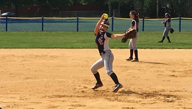 Governor Livingston senior Madison Phillips pitched three strong innings to earn the victory Friday