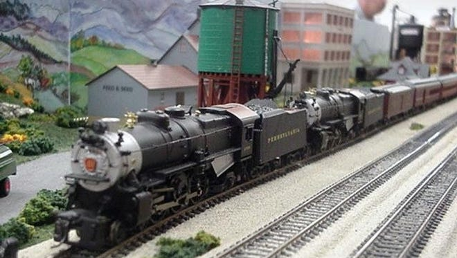 Adventure Science Center's Whistlestop Weekend features all things locomotive, including the museum's Lionel O train.