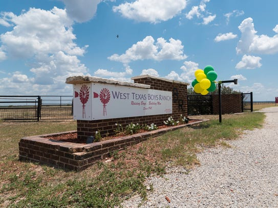 Entrance to the West Texas Boys Ranch in San Angelo,