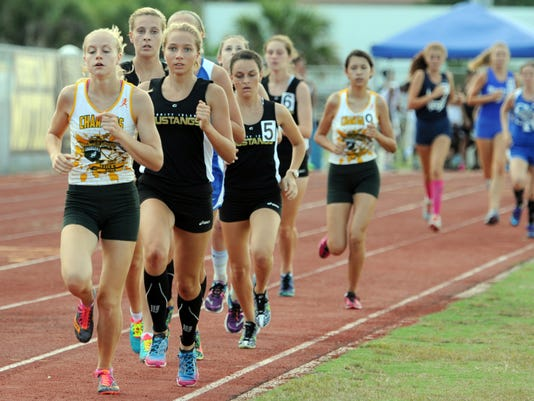High School Track: Class 3A, District 13 meet