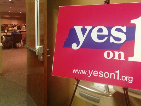 'Yes on 1' is a community-based outreach to raise awareness of the proposed constitutional Amendment 1, which would change wording in the Tennessee constitution regarding abortion. The amendment is slated for public vote on Nov. 4.