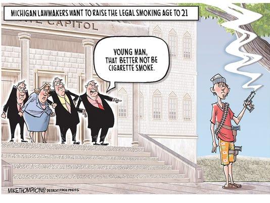 Michigan's legal smoking age