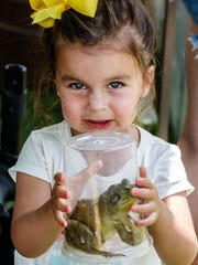 Try your hand at frog jumping at Dousman Derby Days in July. Don't have your own a frog? Don't worry; you can rent one.