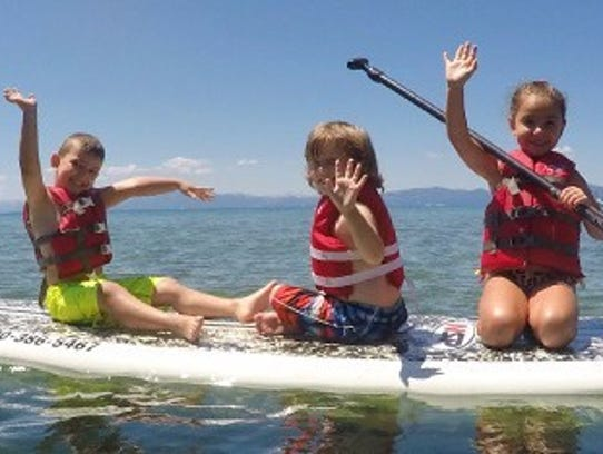 Diamond Peak offers active summer camps for kids.