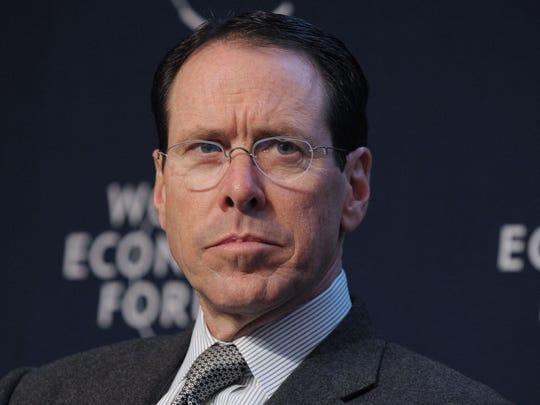CEO of AT&T Randall Stephenson