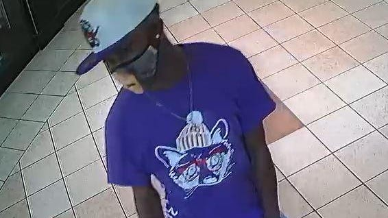 """Investigators with the Tuscaloosa Violent Crimes Unit are asking for the public's help in identifying and locating this man, who is being described as """"person of interest"""" in Saturday's shooting at University Mall."""