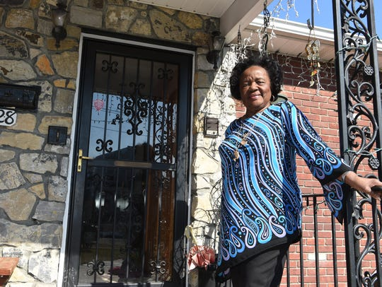 """Perinnella """"Penny"""" Lewis, 88, a retired social worker,"""