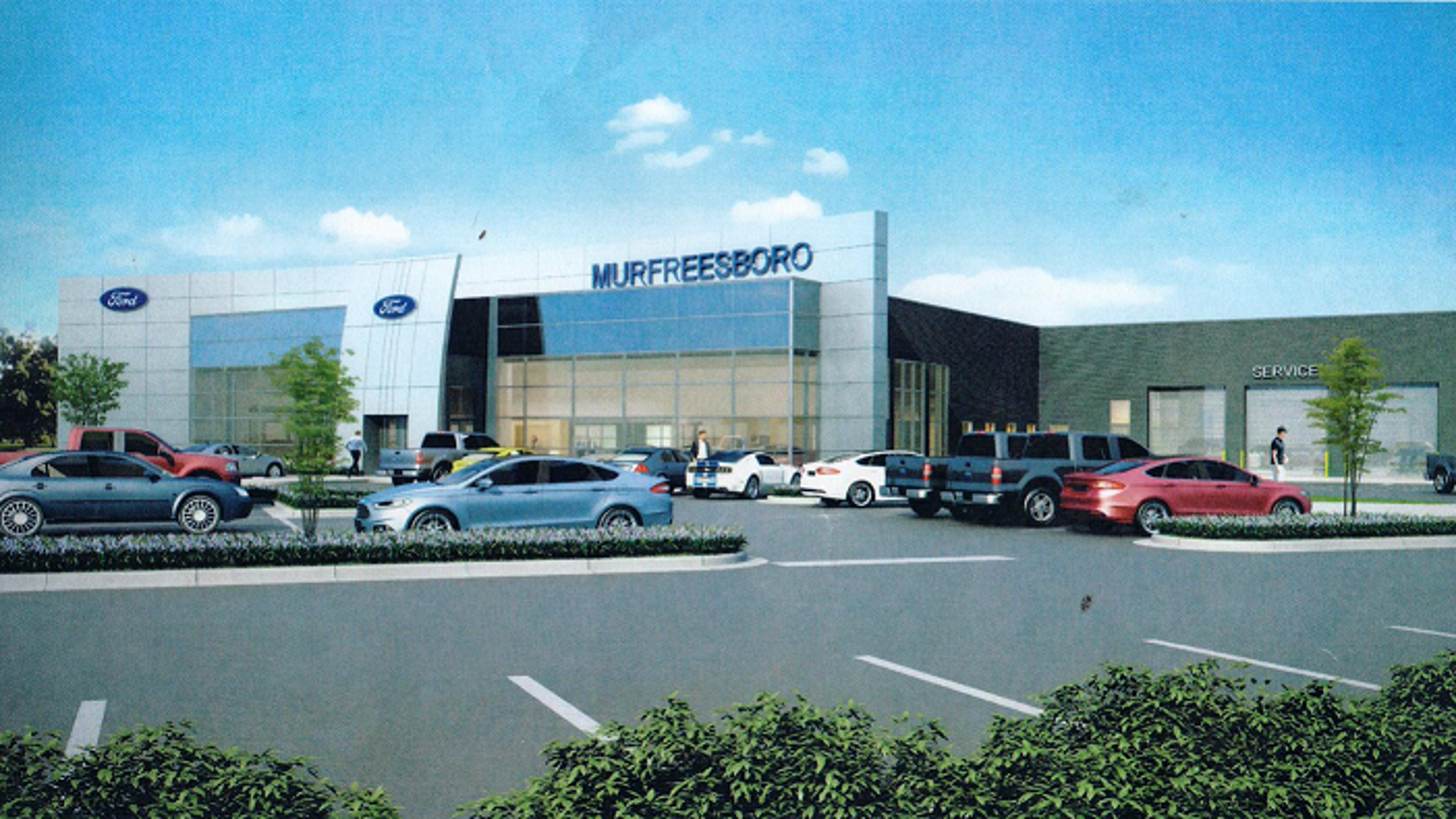Ford of Murfreesboro breaks ground on new facility