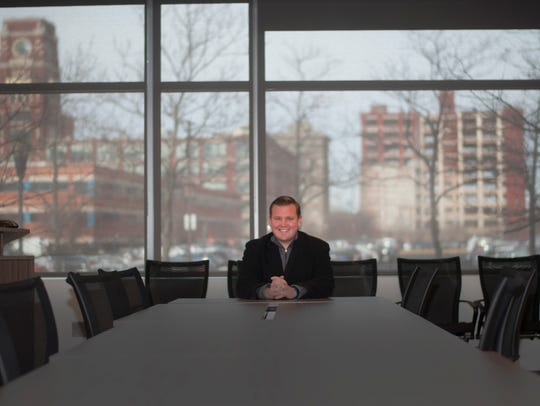 Freeholder William F. Moen, Jr. smiles for a photograph
