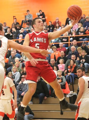 Mansfield Christian's Jared McPeek eclipsed the 1,000-career point milestone over the weekend in a loss to Ontario.
