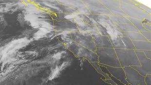 NOAA satellite image taken Monday, Feb. 2.
