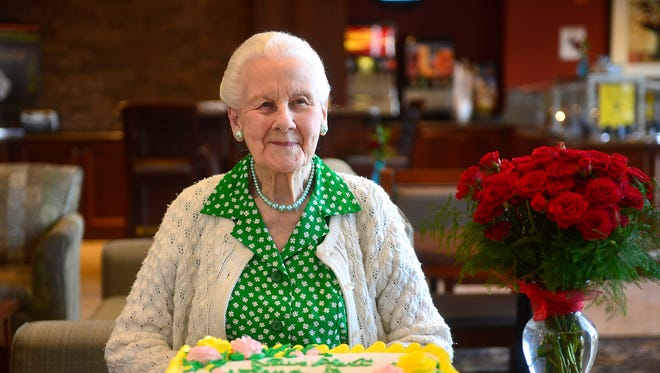 """Magdalena """"Lena"""" Boecker will celebrate her 100th birthday this weekend with her family in Great Falls."""