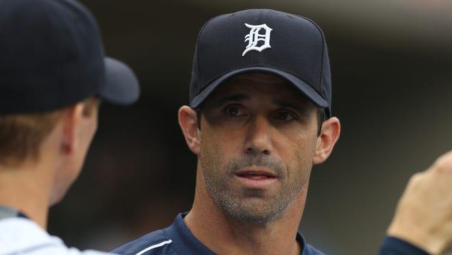 Detroit Tigers manager Brad Ausmus on June 15, 2015.