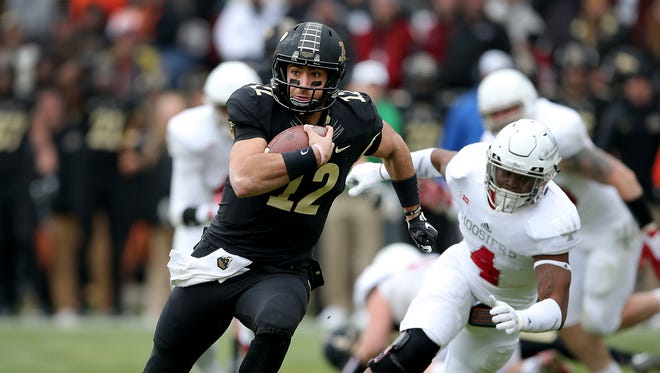 Austin Appleby may be the second Purdue QB to transfer in as many years.