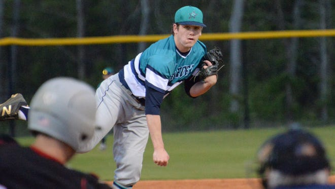 Siegel's John Ross Langworthy was 6-1 with a save. He had a 1.99 ERA and struck out 48.