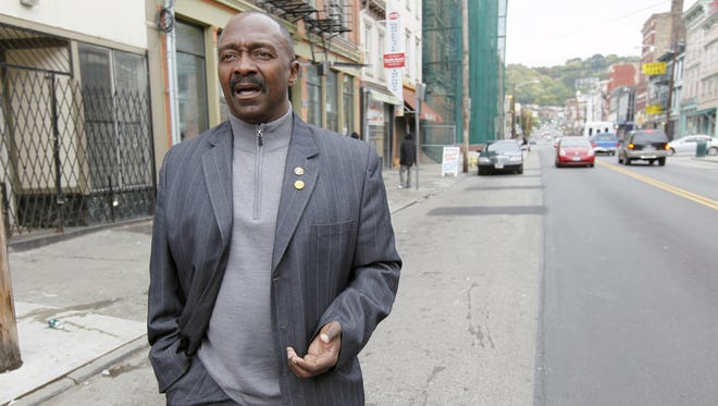The Rev. Peterson Mingo of the Cincinnati Initiative to Reduce Violence (CIRV) spends time on the streets talking to youths in high-crime communities.