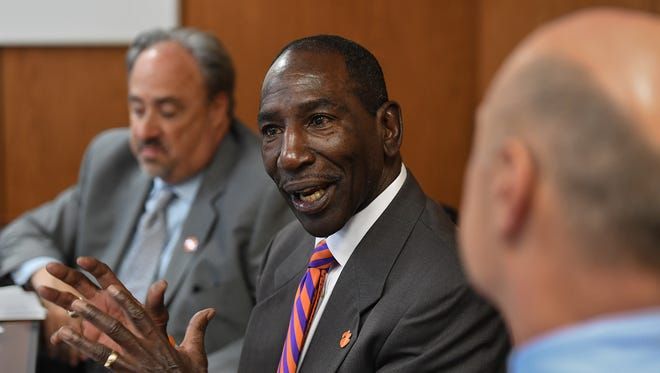 Lee Gill, Clemson University's chief diversity officer, is co-organizer of the Men of Color National Summit, taking place Thursday-Friday at the TD Convention Center.