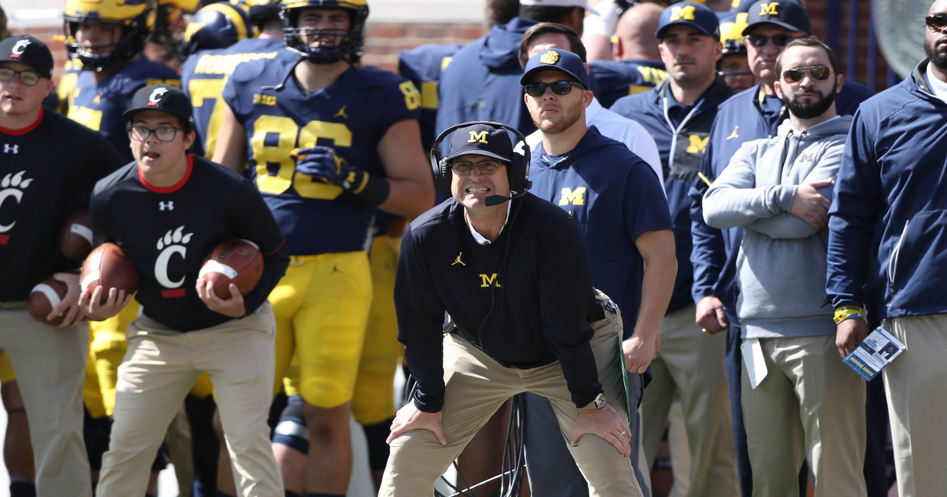 University Of Michigan Calendar 2020-2021 Michigan football unveils Big Ten schedule for 2020, 2021