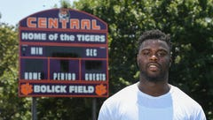 Former Clemson standout Shaq Lawson of the Buffalo Bills honors late father with donation