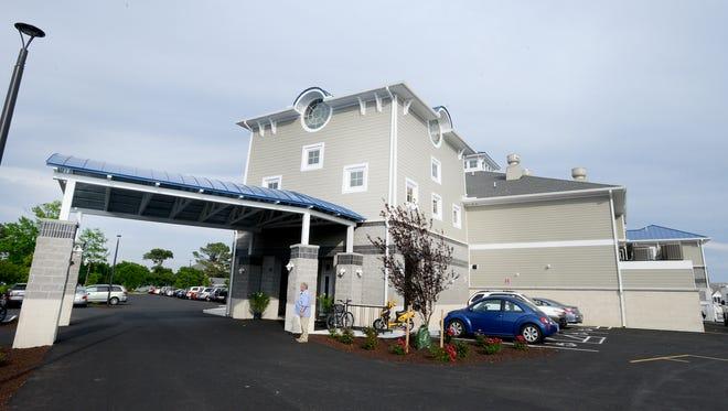 The Ocean Pines Yacht Club.