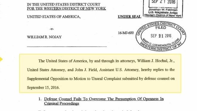 United States of America v William R. Nojay