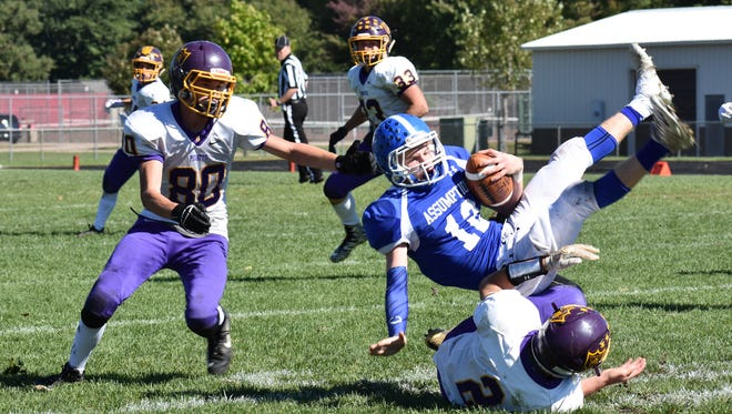 Quarterback Craig Elsen (12) and the Assumption football team need a win Saturday over Greenwood in a Cloverwood Conference battle to keep their WIAA playoff hopes alive.