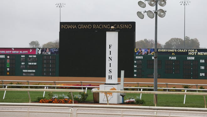 """On Saturday, April 10, jockey Terry """"TD"""" Houghton was injured as the resultof a three-horse spill during Mahoning Valley's sixth race."""