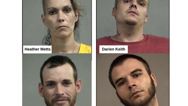 St. Matthews Police charged four people in connection with a violent home invasion in the city on Sept. 17.