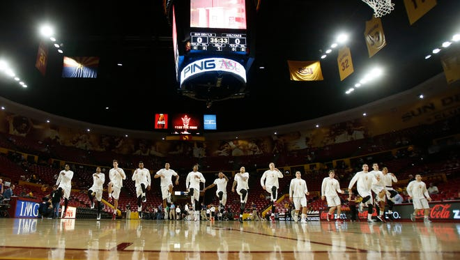 Arizona State Vice President for Athletics Ray Anderson says that everything from a renovation to Wells Fargo Arena to building a new arena is on the table.