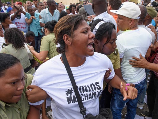CUBA Arrests