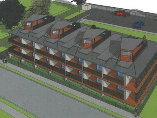 Memphis apartment building would be made of shipping containers