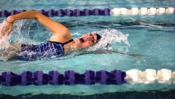 Carolina Day hosted a swim meet at UNC Asheville earlier