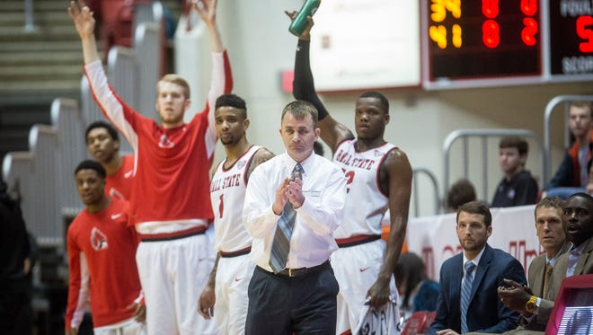 Ball State defeated Western Michigan 75-71 in overtime during a heated match in Worthen Arena.
