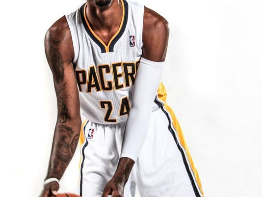super popular 086de 1e0dc Indiana Pacers' Paul George is just the ticket for his alma ...