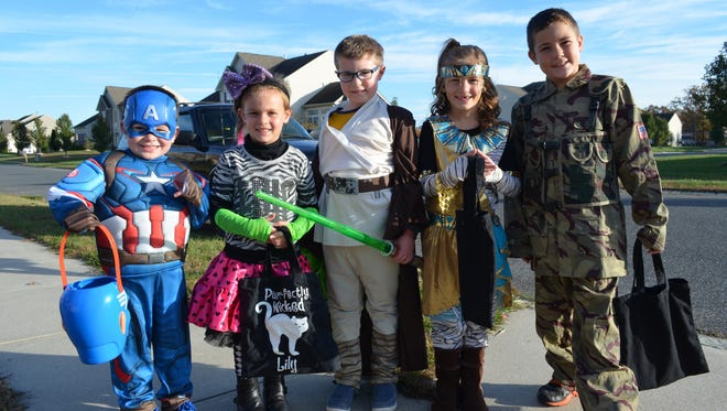 The City of Vineland's trick-or-treat hours are from 5 to 8 p.m. Oct. 31 this year.