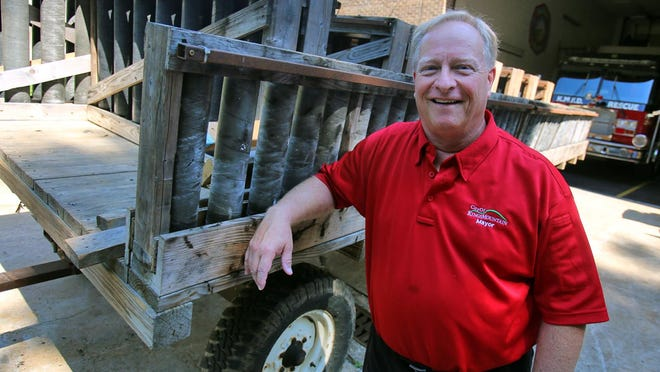 Kings Mountain Mayor Scott Neisler usually loads up his wagon to set up the city's fireworks display for the Fourth of July.
