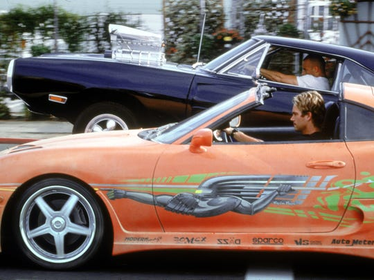 """Paul Walker and Vin Diesel rev up the action in the original """"The Fast and the Furious."""""""