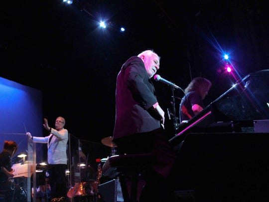 English rock act Procol Harum performs with the Delaware Symphony Orchestra and the OperaDelaware chorus at the Grand Gala in 2010.