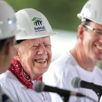Nissan employee volunteers time with Jimmy Carter
